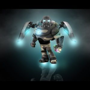 Fortnite with a mix of thanos!